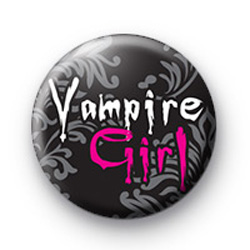 Vampire Girl Badge