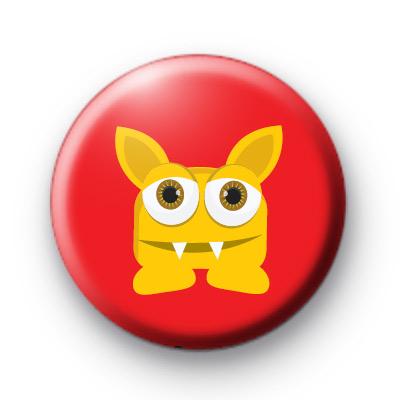 Vampire Monster Button Badge