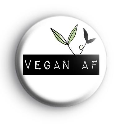 Vegan AF Badge