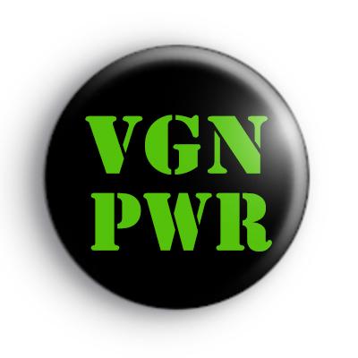 VGN PWR Vegan Badge