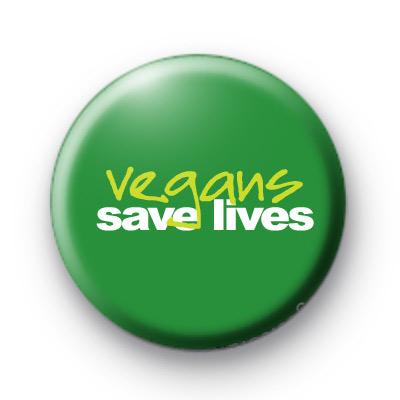 Vegans Save Lives Badges