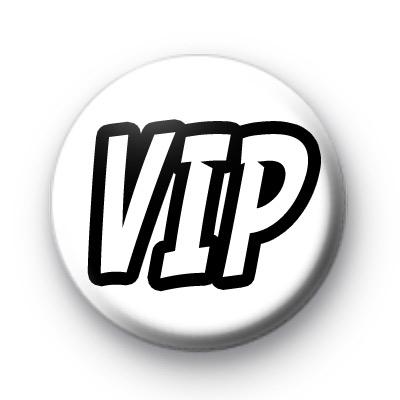 VIP Pin Badges