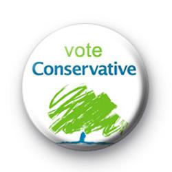 Vote Conservative Tory Election Badges