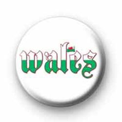 Wales 1 badge