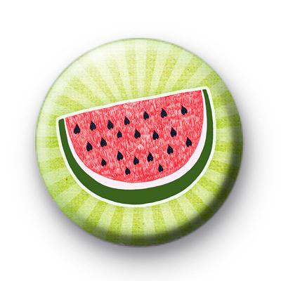 Watermelon Button Badges