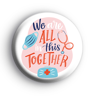 We are all in this together badge