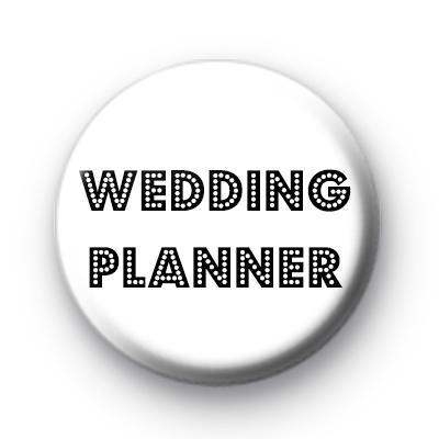 Wedding Planner Button Badge