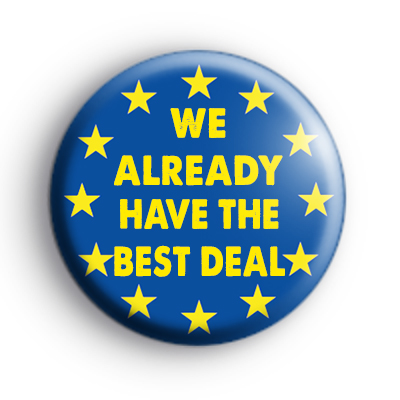 We already have the best deal badge