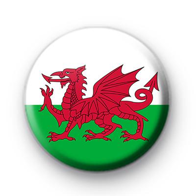 Welsh Wales National Flag Badge