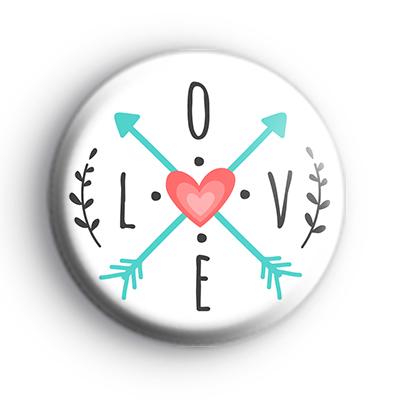 Whimsical LOVE Badge