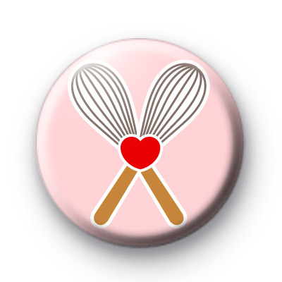 Baking Whisks Button badges