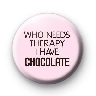 I have chocolate badge