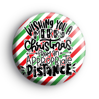 Wishing You A Merry Christmas From an Appropriate Distance