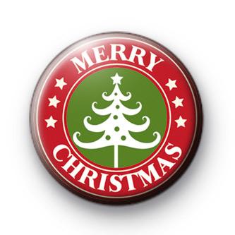 Wishing You A Merry Christmas Badge