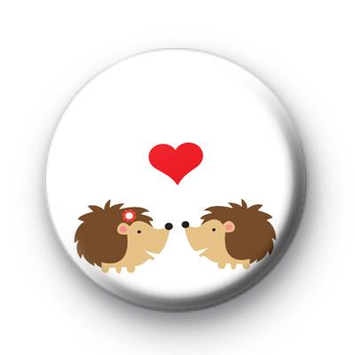 Hedgehog Love Badge