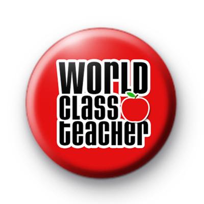 World Class Teacher Red Badge