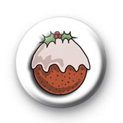 Christmas Pudding Badges