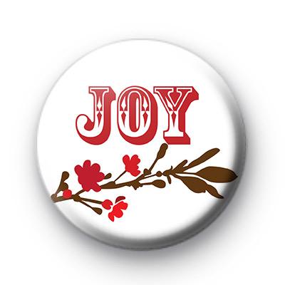 Christmas Joy Button Badges