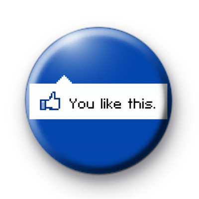 You Like This Facebook Badge