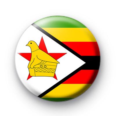Zimbabwe Flag badge