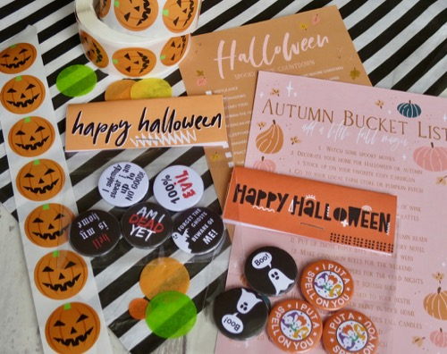 Hocus Pocus inspired witch badges for halloween