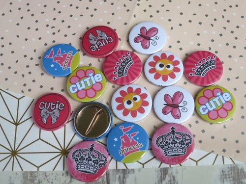 Cute and fun badges