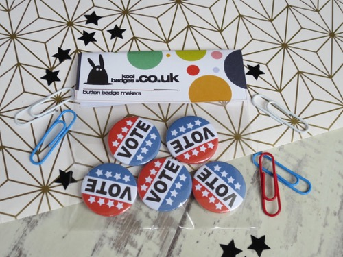 Vote buttons and badges